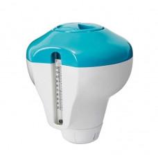 Дозатор плавающий с термометром для бассейна, арт. 29043