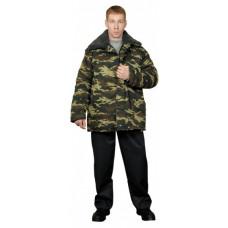 Куртка ватная с мех. воротником