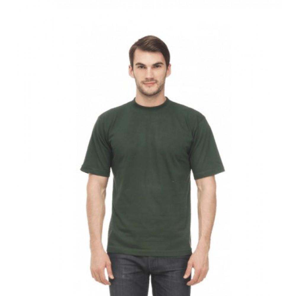Футболка муж. х/б, цвет: зеленый
