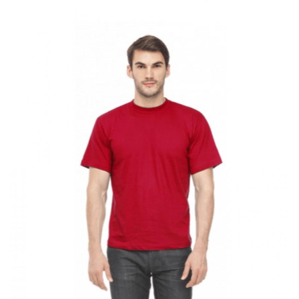 Футболка муж. х/б, цвет: красный