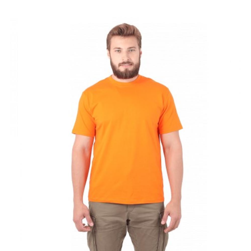 Футболка муж. х/б, цвет: оранжевый