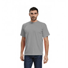 Футболка муж. х/б, цвет: серый