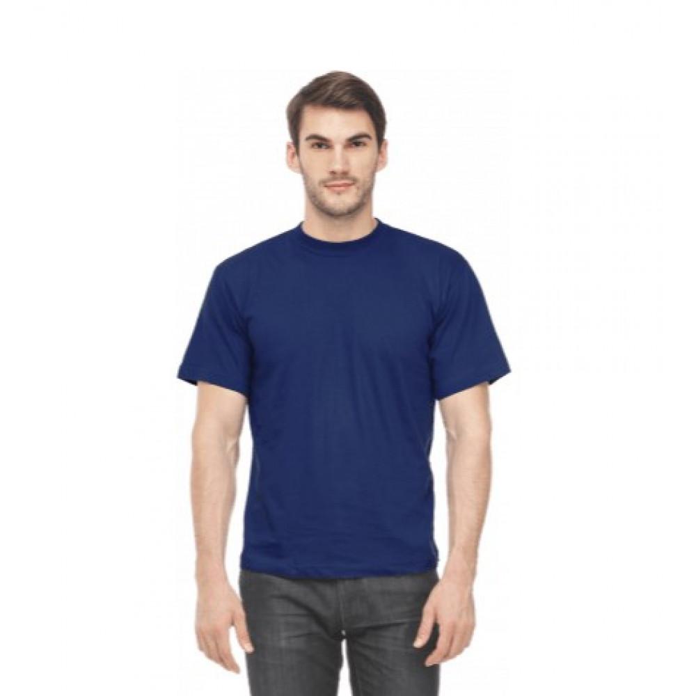 Футболка муж. х/б, цвет: темно-синий