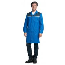 Халат КМ-10 синий-василек
