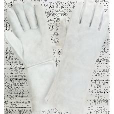 Перчатки спилковые, крага