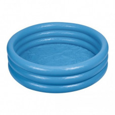 Бассейн Синий кристалл дет. надувной, 114х25 см, арт. 59416